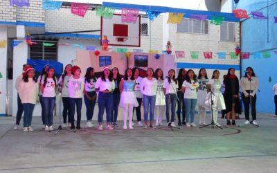 Festival Navideño 2019 de la Secciones Secundaria y Preparatoria