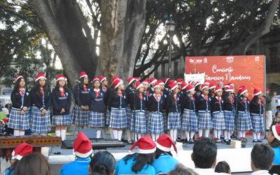 Conciertos Navideños del Coro de Voces y Ensamble de Marimbas del IPIMAD