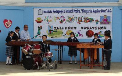 Las secciones preescolar y primaria inician talleres sabatinos