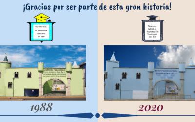 ¡Celebramos 32 años de servicios educativo!
