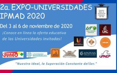 2a Expo-Universidades IPMAD 2020