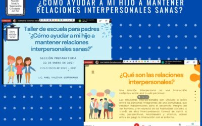 """Continúan las actividades del programa """"Escuela para padres y Madres"""""""