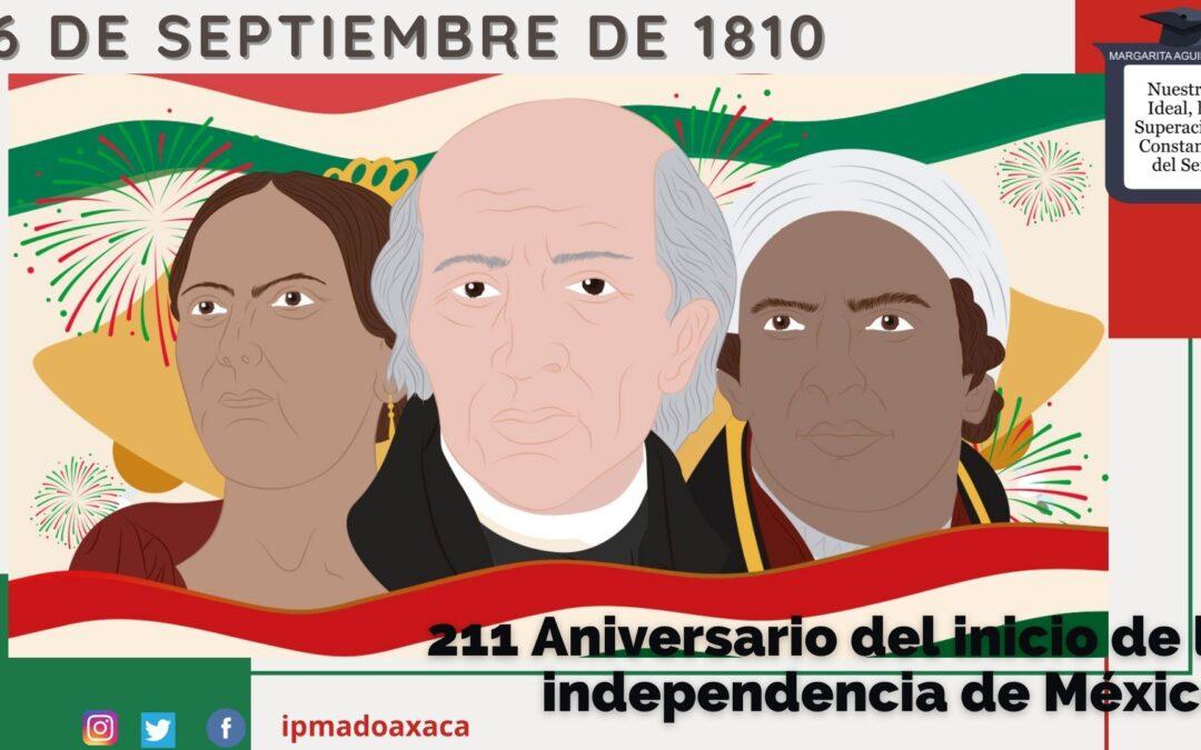 Conmemoración del inicio de la independencia de México