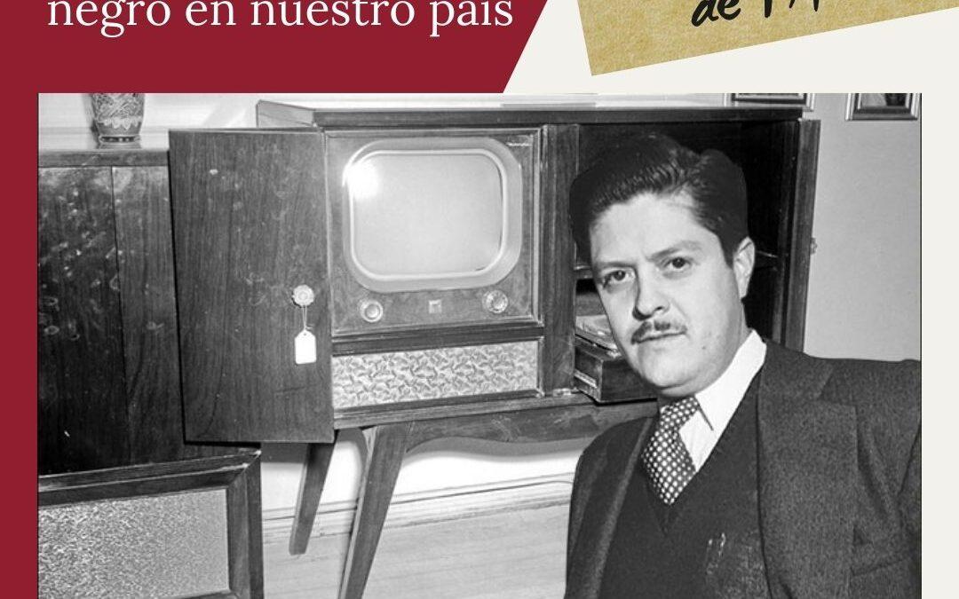 Primera transmisión televisiva en blanco y negro en México