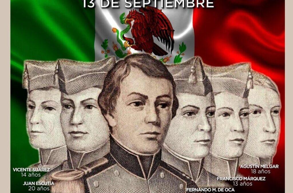 """Aniversario de los """"Niños Héroes"""""""